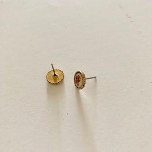 Vintage Jewelry - Vintage rose gold costume jewelry stud earrings